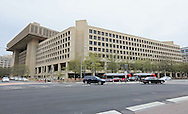 The Federal Bureau of Investigation (FBI) in the J. Edgar Hoover Building in Washington, DC on Monday, April 15, 2013.