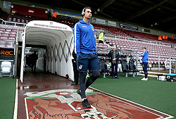 Kelle Roos of Bristol Rovers arrives at Sixfields for the Sky Bet League One fixture with Northampton Town - Mandatory by-line: Robbie Stephenson/JMP - 01/10/2016 - FOOTBALL - Sixfields Stadium - Northampton, England - Northampton Town v Bristol Rovers - Sky Bet League One