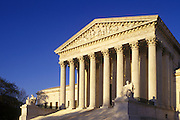 Image of the United States Supreme Court building in Washington DC, American Northeast
