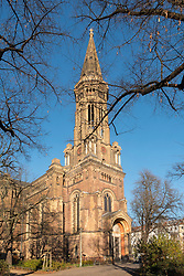 View of Zionskirche in Prenzlauer Berg, Berlin, Germany