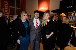15.03.2016, Zagreb, CRO, der Britische Kronprinz Charles und seine Frau Camilla besuchen Kroatien, im Bild His Royal Highness the Prince of Wales attended the celebration of the 70th anniversary of the British Council in Croatia at the Museum of Arts and Crafts. Janica Kostelic, Ivica Kostelic, Elin Arnarsdottir. EXPA Pictures © 2016, PhotoCredit: EXPA/ Pixsell/ Goran Mehkek/Cropix/POOL<br /> <br /> *****ATTENTION - for AUT, SLO, SUI, SWE, ITA, FRA only*****