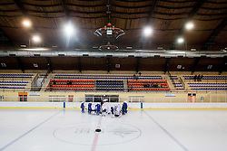 Team during practice session of Slovenian Ice Hockey National Team at training camp, on February 8th, 2016 in Ledna dvorana, Bled, Slovenia. Photo by Vid Ponikvar / Sportida