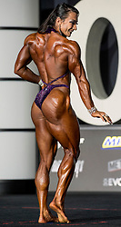 September 15, 2018 - Las Vegas, Nevada, U.S. -  VALENTINA MISHINA of Russia competes in the Women's Physique Olympia during Joe Weider's Olympia Fitness and Performance Weekend 2018.(Credit Image: © Brian Cahn/ZUMA Wire)