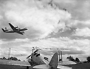 Air Display at Weston, Leixlip, Co. Kildare .09/06/1957 .
