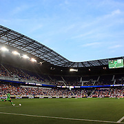 A panoramic view of Red Bull Arena during the New York Red Bulls V Chivas USA Major League Soccer match at Red Bull Arena, Harrison, New Jersey, 23rd May 2012. Photo Tim Clayton