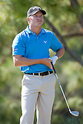 November 14, 2010: Derek Lamely reacts to his tee shot on the par 3 third of the Magnolia course during third round golf action from The Children's Miracle Network Hospitals Classic held at The Disney Golf Resort in Lake Buena Vista, FL.
