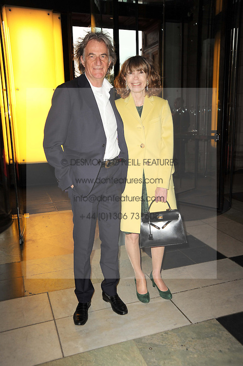 SIR PAUL & LADY SMITH at the opening of the Victoria & Albert Museum's latest exhibition 'Grace Kelly: Style Icon' opened by His Serene Highness Prince Albert of Monaco at the V&A on 15th April 2010.
