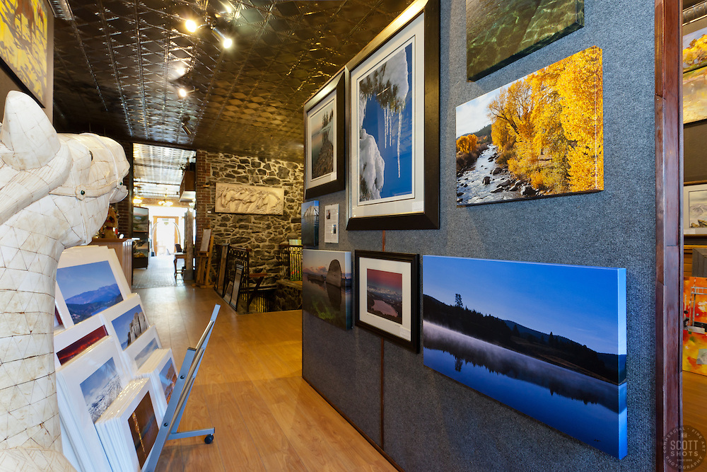 Art Obsessions Gallery in Downtown Truckee, California. www.ArtObsessions.com for more info on the gallery.