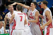 DESCRIZIONE : Vilnius Lithuania Lituania Eurobasket Men 2011 Second Round Russia Macedonia Russia FYR of Macedonia<br /> GIOCATORE : team Semen Antonov<br /> CATEGORIA : team esultanza<br /> SQUADRA : Russia <br /> EVENTO : Eurobasket Men 2011<br /> GARA : Russia Macedonia Russia FYR of Macedonia<br /> DATA : 12/09/2011<br /> SPORT : Pallacanestro <br /> AUTORE : Agenzia Ciamillo-Castoria/M.Metlas<br /> Galleria : Eurobasket Men 2011<br /> Fotonotizia : Vilnius Lithuania Lituania Eurobasket Men 2011 Second Round Russia Macedonia Russia FYR of Macedonia<br /> Predefinita :