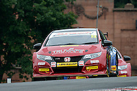 #23 Daniel Lloyd GBR Eurotech Racing Honda Civic Type R, during first practice for the BTCC Oulton Park 4th-5th June 2016 at Oulton Park, Little Budworth, Cheshire, United Kingdom. June 04 2016. World Copyright Peter Taylor/PSP.