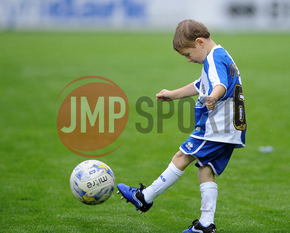 Mascot - Mandatory byline: Neil Brookman/JMP - 07966 386802 - 14/11/2015 - FOOTBALL - Memorial Stadium - Bristol, England - Bristol Rovers v Carlisle United - Sky Bet League Two