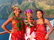 Les Gauguins, Paul Gauguin Cruise Crew, French Polynesia