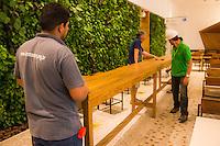 São Paulo, 9 de dezembro de 2016. Obras nos  escritórios do Google, equipe e paisagem urbana. Fotos: Daniel Deák