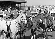 Dublin Horse Show (Aga Khan Cup).1986..08.08.1986..08.08.1986..8th August 1986..The annual Aga Khan Cup competition was held in the R.D.S. Dublin.Four countries competed for the cup this year.FDR Germany,The USA,Great Britain and Ireland. Great Britain were the eventual winners.