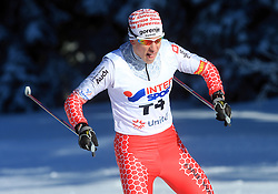 Slovenian cross-country skier Bostjan Klavzar at 10th OPA - Continental Cup 2008-2009, on January 17, 2009, in Rogla, Slovenia.  (Photo by Vid Ponikvar / Sportida)