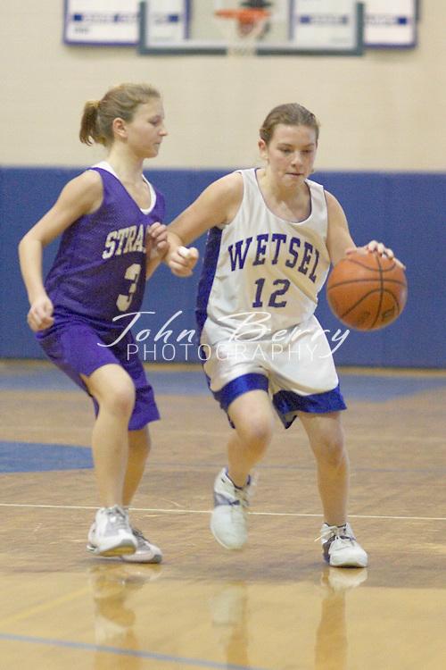 Wetsel Girls Basketball..vs Strasburg..January 11, 2005