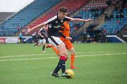 Dundee' s Mark Smith opens the scoring - Dundee v Dundee United in the SPFL Development League at Links Park, Montrose. Photo: David Young<br /> <br />  - &copy; David Young - www.davidyoungphoto.co.uk - email: davidyoungphoto@gmail.com