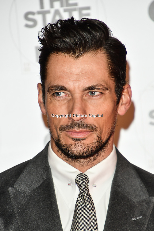 David Gandy Arrivers at GQ 30th Anniversary celebration at Sushisamba, The Market, Convent Garden on 29 October 2018.