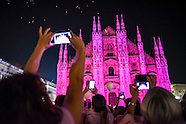 Milan: Breast Cancer Awareness campaign, 26 September 2016