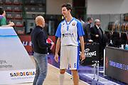 DESCRIZIONE : Eurolega Euroleague 2015/16 Group D Dinamo Banco di Sardegna Sassari - Unicaja Malaga<br /> GIOCATORE : Giacomo Devecchi Stefano Sardara<br /> CATEGORIA : Fair Play Ritratto Fair Play<br /> SQUADRA : Dinamo Banco di Sardegna Sassari<br /> EVENTO : Eurolega Euroleague 2015/2016<br /> GARA : Dinamo Banco di Sardegna Sassari - Unicaja Malaga<br /> DATA : 10/12/2015<br /> SPORT : Pallacanestro <br /> AUTORE : Agenzia Ciamillo-Castoria/C.AtzoriAUTORE : Agenzia Ciamillo-Castoria/C.Atzori