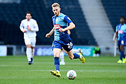 Wycombe Wanderers defender (on loan from Millwall) (26) sprints forward with the ball during the EFL Sky Bet League 1 match between Milton Keynes Dons and Wycombe Wanderers at stadium:mk, Milton Keynes, England on 1 February 2020.