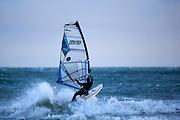 Windsurfer, Dollymount Beach, Bull Island, Dublin, Ireland