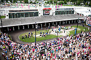 May 3, 2019: 145th Kentucky Oaks at Churchill Downs. Paddock atmosphere