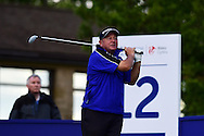 Ian Woosnam of Wales in action on day one of the SSE Enterprise Wales Senior Open golf at Celtic Manor Resort in Newport, South Wales , on Friday 29th May 2015<br /> pic by Andrew Orchard, Andrew Orchard sports photography.