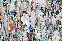 Pile of rubbish full frame