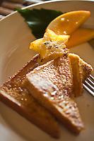 French toast at Restaurant Brisa Azul at Lapa Rios Ecolodge, Osa Peninsula, Costa Rica