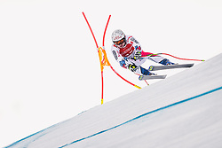 27.01.2019, Streif, Kitzbühel, AUT, FIS Weltcup Ski Alpin, SuperG, Herren, im Bild Matthieu Bailet (FRA) // Matthieu Bailet of France in action during his run in the men's Super-G of FIS ski alpine world cup at the Streif in Kitzbühel, Austria on 2019/01/27. EXPA Pictures © 2019, PhotoCredit: EXPA/ Johann Groder: EXPA