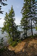 Sunset falls over Lane Cove, Isle Royale National Park, Lake Superior, Michigan, USA