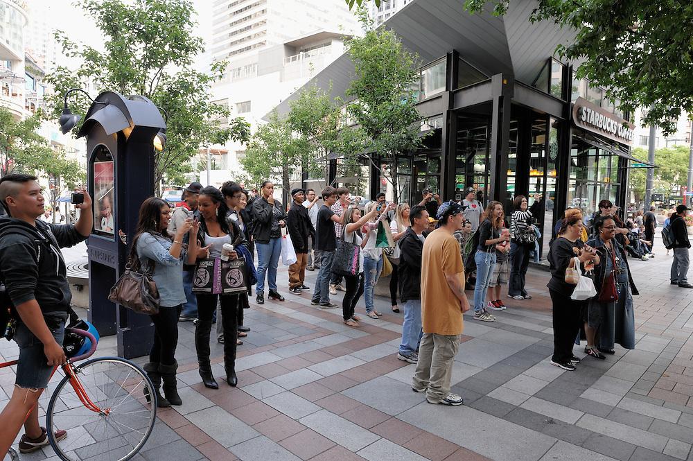 Ice Cream Mafia Truck Audience in Seattle
