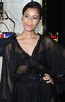 Aluna Francis, Fendi - Store Launch Party, New Bond Street, London UK, 01 May 2014, Photo by Brett D. Cove
