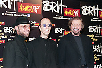 The Bee Gees at The BRIT Awards 1997 <br /> Monday 24 Feb 1997.<br /> Earls Court Exhibition Centre, London, England<br /> Photo: JM Enternational