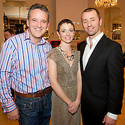 "In Hotel Meyrick was Stephen Macken  event and single Co-ordinator with Parents of Lily Mae, Judith Sibley and Leighton Morrison  at the launch of  ""Tiny Dancer""  A Song for Lily-Mae aims to be the Christmas No.1 for 2012, if you wish to help to achieve this goal, go to iTunes and.download the song during the week beginning the 14th of December or buy the CD wherever you see it on sale. The Christmas No.1 will be.announced on Friday, 21st of December.""Picture:Andrew Downes..Photo issued with compliments, no reproduction fee."