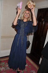 LEAH DE WAVRIN at Tatler's Jubilee Party in association with Thomas Pink held at The Ritz, Piccadilly, London on 2nd May 2012.