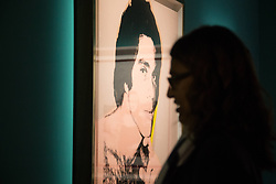 October 2, 2018 - Rome, Italy - Presentation to the press of the exhibition ''Andy Warhol'' at the Complesso del Vittoriano in Rome, realized on the occasion of the ninetieth anniversary of the birth of the American artist (Credit Image: © Matteo Nardone/Pacific Press via ZUMA Wire)