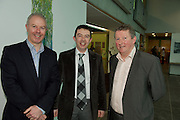 Martin O Toole Clarinbridge , Jimmy Walsh Claremorris and Sean Canny Tuam at the AGM of the Western Region of the SCSI. Photo:Andrew Downes Photography. ..