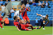 GOAL Aiden O'Brien scores for Millwall 1-0  during the EFL Sky Bet League 1 match between Millwall and Rochdale at The Den, London, England on 24 September 2016. Photo by Daniel Youngs.
