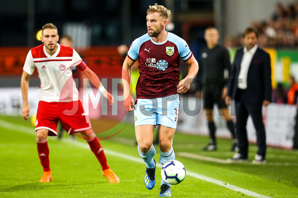 Charlie Taylor of Burnley - Mandatory by-line: Robbie Stephenson/JMP - 30/08/2018 - FOOTBALL - Turf Moor - Burnley, England - Burnley v Olympiakos - UEFA Europa League Play-offs second leg
