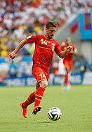 Dries Mertens of Belgium in action during the 2014 FIFA World Cup match at Maracana Stadium, Rio de Janeiro, Brazil. <br /> Picture by Andrew Tobin/Focus Images Ltd +44 7710 761829<br /> 22/06/2014