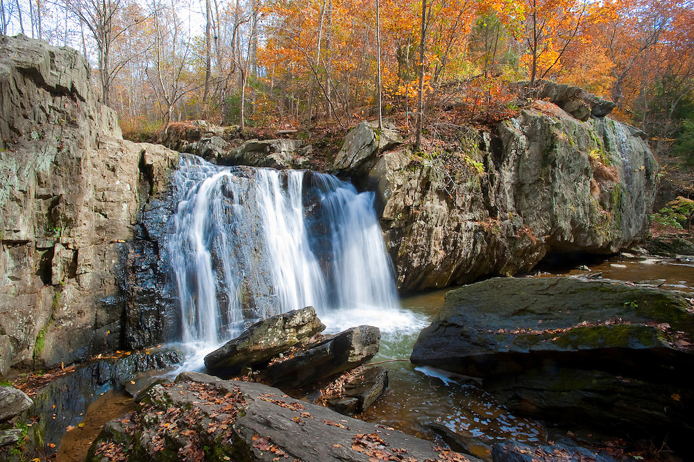 Harford County Maryland<br /> Falling Branch waterfall