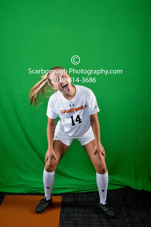 2016 Campbell University Women Soccer Portraits