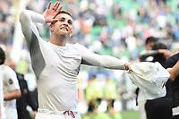 esultanza Gerard Deulofeu celebration<br /> Milano 15-04-2017, Stadio Giuseppe Meazza, Football Calcio 2016/2017 Serie A, Inter - Milan, Foto Image Sport/Insidefoto