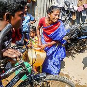 Weighing Heavily, Chennai, India by Kavya. <br />