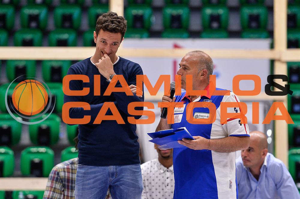 Giacomo Devecchi<br /> Saluti Finali Banco di Sardegna Dinamo Sassari<br /> Legabasket Serie A LBA Poste Mobile 2016/2017<br /> Sassari 18/05/2017<br /> Foto Ciamillo-Castoria