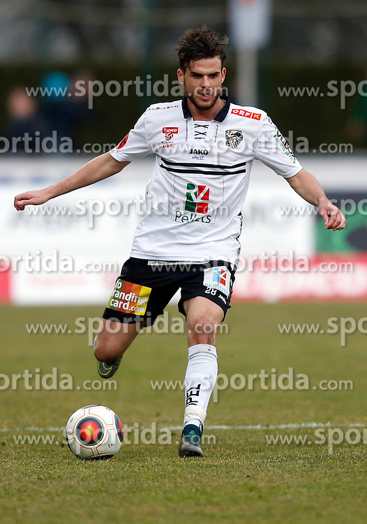 12.03.2016, Lavanttal Arena, Wolfsberg, AUT, 1. FBL, RZ Pellets WAC vs FC Red Bull Salzburg, 27. Runde, im Bild v.l. Thomas Zündel (RZ Pellets WAC) // during the Austrian Football Bundesliga 27th Round match between RZ Pellets WAC and FC Red Bull Salzburg at the Lavanttal Arena in Wolfsberg Austria on 2016/03/12, EXPA Pictures © 2016, PhotoCredit: EXPA/ Wolfgang Jannach