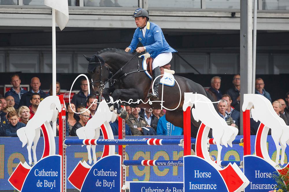 Ahlmann Christian (GER) - Air Jordan Alpha Z<br /> Final 5 years<br /> FEI World Breeding Jumping Championships for Young Horses - Lanaken 2014<br /> © Dirk Caremans