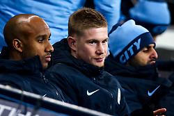 Kevin De Bruyne of Manchester City takes his place on the bench  - Mandatory by-line: Robbie Stephenson/JMP - 14/01/2019 - FOOTBALL - Etihad Stadium - Manchester, England - Manchester City v Wolverhampton Wanderers - Premier League